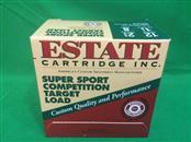 ESTATE CARTRIDGE Ammunition 12 GA SHELLS